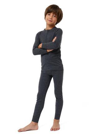Теплое детское термобелье  с начесом для мальчика. комплект