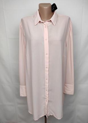 Блуза новая шикарная легкая new look uk 16/44/xl