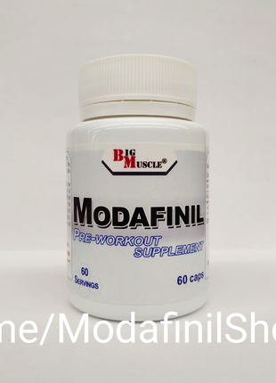 Big Muscle USA Modafinil 60caps 100mg Modvigil Modalert Модафинил