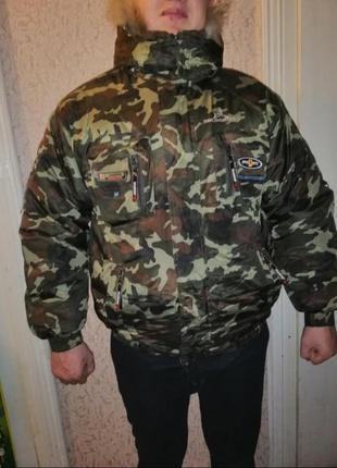 Куртка мужская зимняя милитари