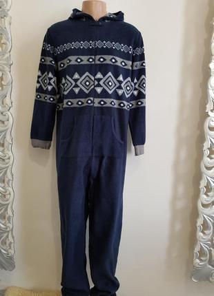 Домашний флисовый комбинезон,кигуруми,пижама на рост 1,80