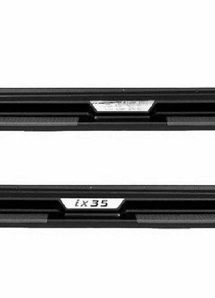 Оригинальные боковые пороги Hyundai ix35