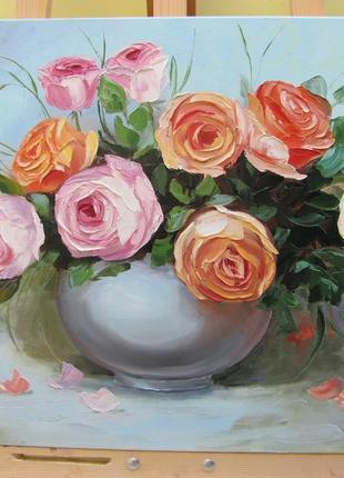 Картина Букет роз.