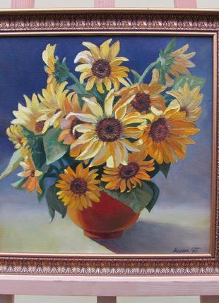 Картина Подсолнухи.