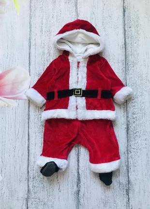 Крутой комбинезон костюм человечек новый год санта дед мороз m...