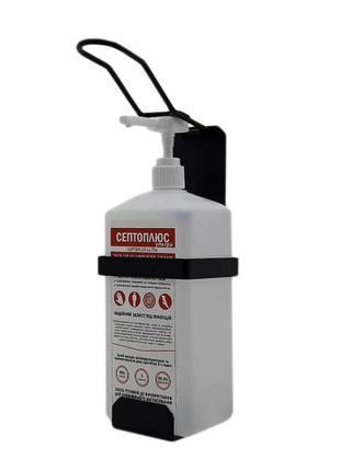 Локтевой дозатор c антисептиком 1л SK EDW1К WS черный