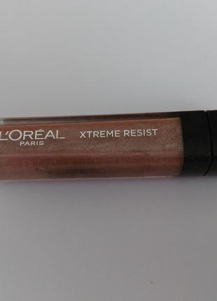 Блеск для губ l'oreal infallible mega gloss, 507 resist me