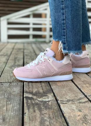 New balance 574 winter зимние на меху
