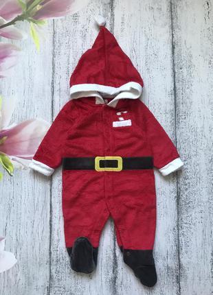 Крутой комбинезон костюм человечек новый год санта дед мороз j...