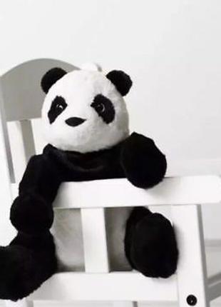 Плюшевая игрушка Панда 30 см IKEA детская мягкая игрушка