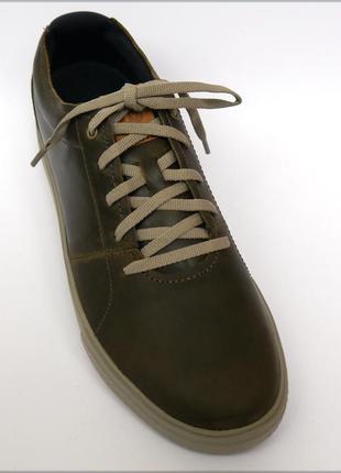 Merrell barkley мужские кроссовки кожа оригинал olive 42.5 43