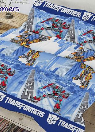 """Комплект детского постельного белья """"Transformers"""""""