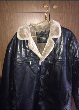 Мужская зимняя куртка  с мехом Panda