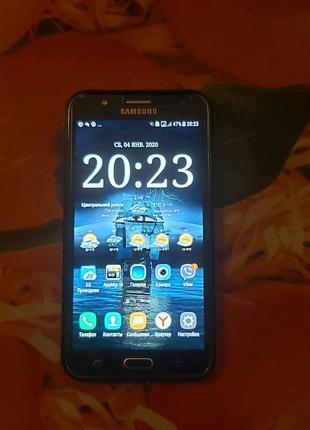 Samsung J7 (J700H)+карта памяти на 64 GB.