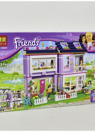 Конструктор Friends «Дом Эммы / Подружки» 10541 LEGO 41095 731...