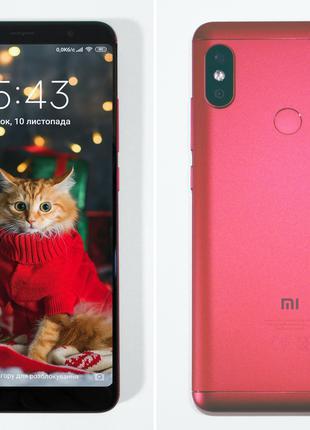 Смартфон Xiaomi Redmi Note 5 Red 4/64 червоний