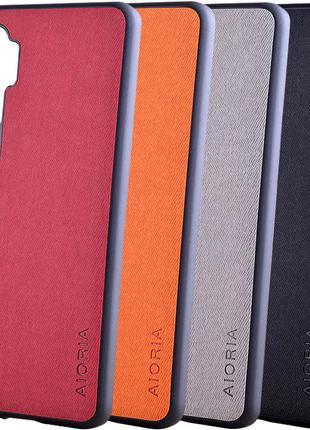 Чехол AIORIA Textile PC+TPU для Samsung, Xiaomi, One Plus