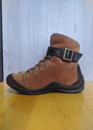 Ботинки кожаные merrell palvina