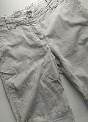 Бежевые хлопковые шорты