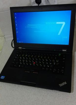 Отличный 14` легкий бизнес-ноутбук Lenovo L430 Core i5/6/SSD 275