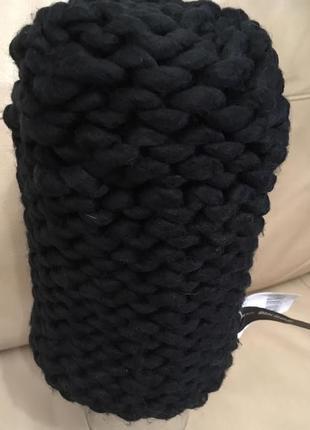 Шапка  крупной вязки от bik bok