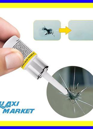 Полимер клей для ремонта лобового стекла,трещин,сколов,быстрый