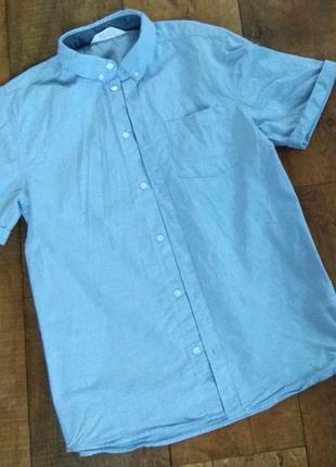 Рубашка футболка  школьная нарядная выпускная майка 13-14-15-1...