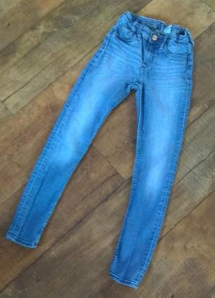 Джинсы узкачи штаны брюки skinny 10-11-12-13-14-15л 140-146см