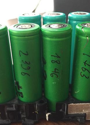 18650 аккумуляторы Li-Ion 2500 мАч