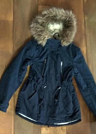 Парка куртка женская xs-s