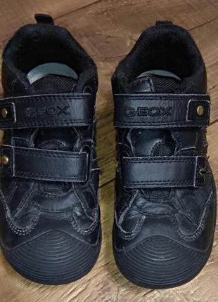 Ботинки кроссовки полуботинки 28-29р 18см кожаные geox