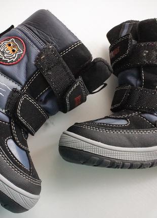 Зимние ботинки для мальчика 24 размер