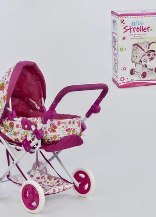 Детская коляска для кукол с люлькой 65826