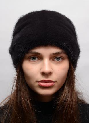 Зимняя норковая женская кубанка