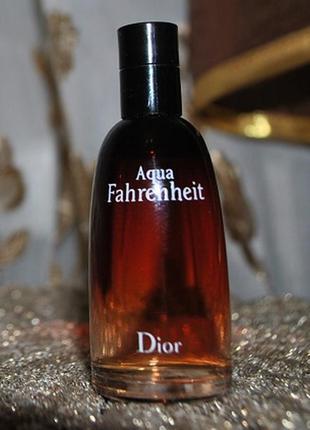 Миниатюра christian dior aqua fahrenheit оригинал.