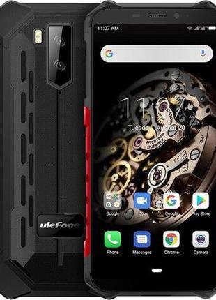 Смартфон Ulefone Armor X5 Black, Red NFC 3/32GB 5000 мА·ч IP69...