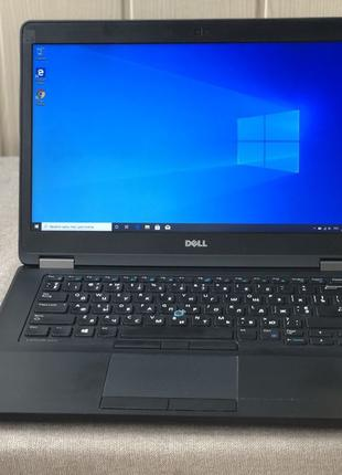 Ноутбук DELL Latitude E5470/Intel i5 6300/8GbDDR4/128gbSSD/6ч акб