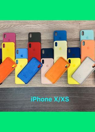 Чехол Original Silicone Case Iphone 6/6s 7/8 7/8X/XS Max XR 11...