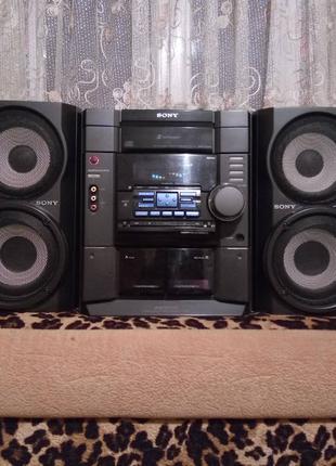 Музыкальный центр Sony MHC-RG40:Hi-Fi 2x100w.