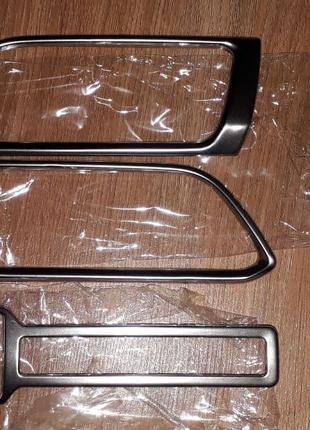Продам хромированные накладки салона Peugeot 308 T9 2014+