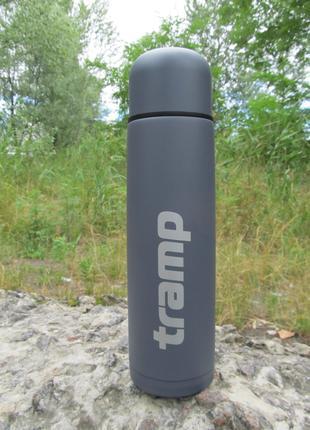 Питьевой термос Tramp Basic серый 0,75 л