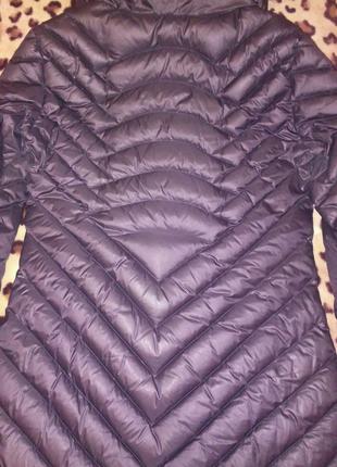 Пальто. Armani пуховое пальто. Куртка с дефектом