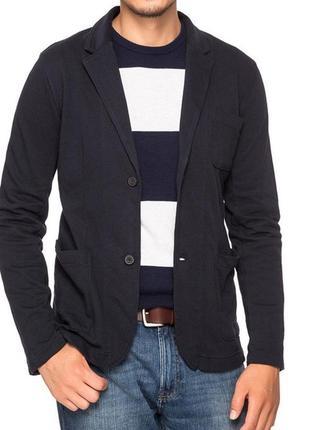 Мужской пиджак жакет блейзер с карманами dnn denim