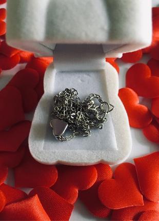 Подарок набор любви цепочка коробочка мишка шарики девушке