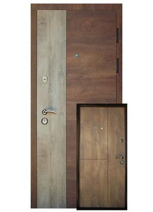 """Входная дверь """"Соната""""  металл 1,5 мм замки Kale"""
