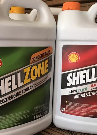 SHELLZONE Антифриз-концентрат зеленый