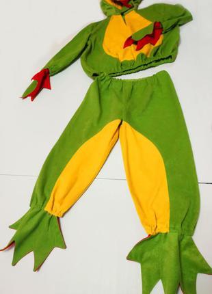 Карнавальный новогодний костюм лягушёнка на 3-4 года