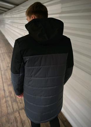 Куртка демисезонная парка