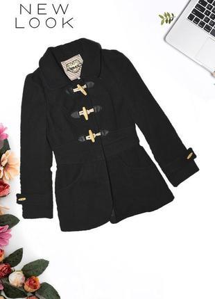 Весеннее приталенное пальто с карманами new look