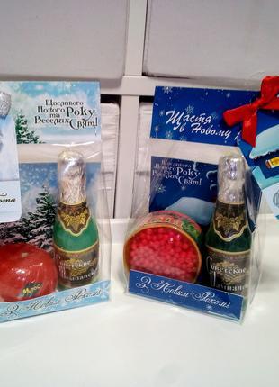 Новогодние подарочки уже в продаже мыло ручнойработы